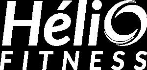 Hélio Fitness Logo White