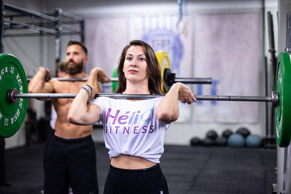 Cours de CrossFit Hélio Fitness