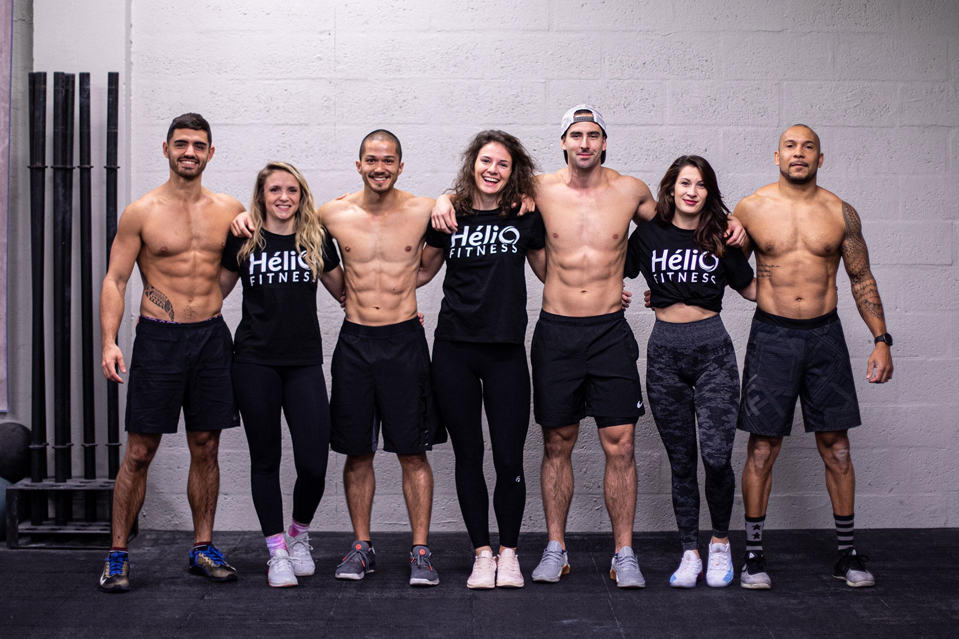L'équipe Hélio Fitness